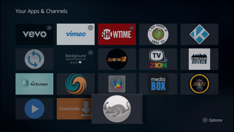 APPS AND CHANNELS