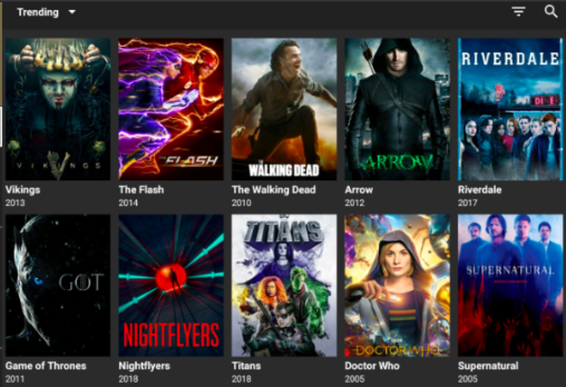 CatMouse App Installed on Nvidia Shield TV