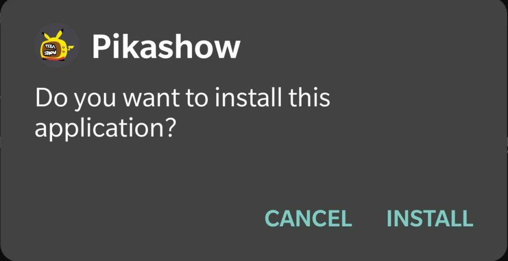 pikashow install