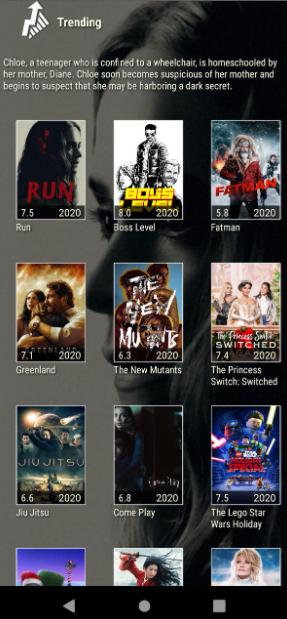 Launch Morpheus TV App