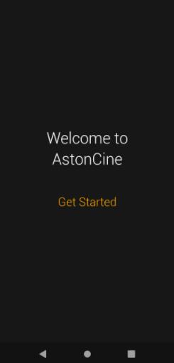 Installed Aston Cine APK Movies & TV Shows