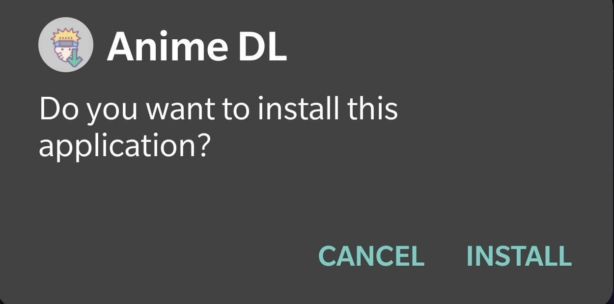 install Anime DL on smart tv