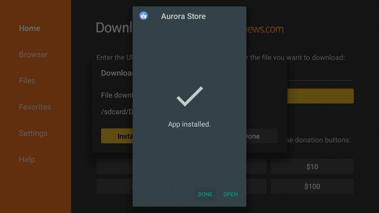 aurora-store